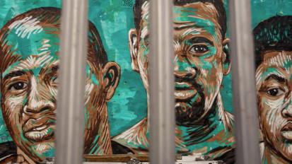Four Corners – A mural by AuReT